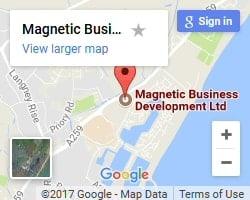 Magnetic Business Development Map